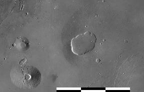 Ceraunius Tholus, Uranius Tholus, and Uranius Patera